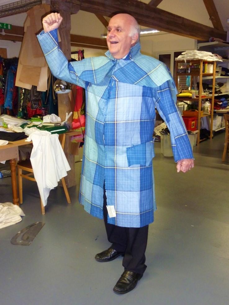 tablecloth coat